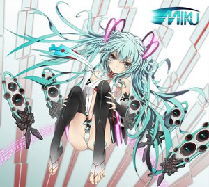 Rating: Safe Score: 89 Tags: hatsune_miku miku_append panties striped_panties twintails underwear vocaloid User: HawthorneKitty