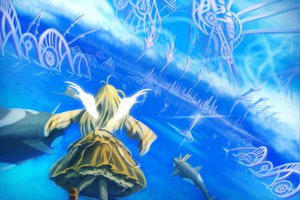 Rating: Safe Score: 9 Tags: landscape scenic sky water User: Maboroshi