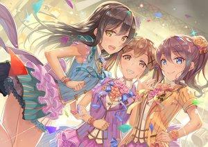 Rating: Safe Score: 62 Tags: bang_dream! hanazono_tae ichigaya_arisa tagme terumii yamabuki_saaya User: luckyluna