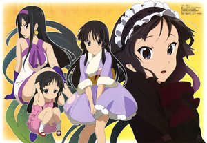 Rating: Safe Score: 29 Tags: akiyama_mio black_eyes black_hair k-on! long_hair maid scan User: anaraquelk2