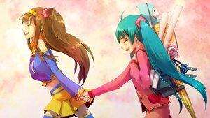 Rating: Safe Score: 44 Tags: hatsune_miku mirine_mon vocaloid User: HawthorneKitty