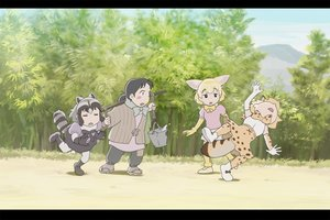 Rating: Safe Score: 12 Tags: animal_ears anthropomorphism black_hair blonde_hair boots bow catgirl common_raccoon_(kemono_friends) elbow_gloves fennec_(kemono_friends) gloves group jpeg_artifacts kemono_friends serval short_hair skirt tail ueyama_michirou User: RyuZU