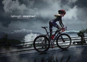 Rating: Safe Score: 63 Tags: bicycle hitomi_kazuya skintight watermark User: mattiasc02