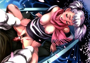 Rating: Explicit Score: 68 Tags: boat breasts censored cowgirl crying dendrobium nipples nishieda penis petals pubic_hair scarf sex tears twintails water white_hair User: pantu