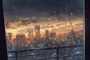 Rating: Safe Score: 142 Tags: building city clouds cola_(gotouryouta) nobody original rain scenic sky sunset tree water User: RyuZU