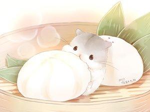 Rating: Safe Score: 63 Tags: animal food leaves nobody original signed yutaka_kana User: otaku_emmy