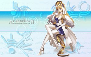 Rating: Safe Score: 36 Tags: ar_tonelico ar_tonelico_ii blonde_hair cloche_leythal_pastalia nagi_ryou thighhighs User: 秀悟