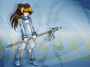 Rating: Safe Score: 5 Tags: anthropomorphism juzo-kun linux os-tan pacman spear weapon User: Oyashiro-sama