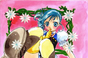 Rating: Questionable Score: 3 Tags: blue_eyes blue_hair boots gloves kiddy_grade lumiere thighhighs User: 秀悟