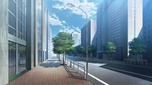 Rating: Safe Score: 33 Tags: building city clouds front_wing game_cg grisaia_no_zankou nobody reflection scenic shade sky tagme_(artist) tree User: Kiho