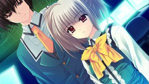 Rating: Safe Score: 9 Tags: game_cg kona_nako nishimata_aoi seifuku sekai_seifuku_kanojo tagme_(character) User: oranganeh