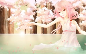 Rating: Safe Score: 104 Tags: guilty_crown pink pink_hair summer_dress water wet yuzuriha_inori User: gnarf1975