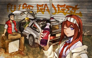 Rating: Safe Score: 51 Tags: hashida_itaru makise_kurisu okabe_rintarou parody steins;gate User: Tensa
