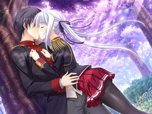 Rating: Safe Score: 72 Tags: game_cg kiss komori_kei lisa_eostre male mizuno_takahiro ricotta walkure_romanze User: Maboroshi
