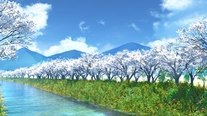 Rating: Safe Score: 102 Tags: clouds grass ihara_asta landscape nobody original scenic sky tree water User: otaku_emmy