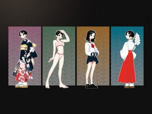 Rating: Safe Score: 13 Tags: fuura_kafuka japanese_clothes sayonara_zetsubou_sensei school_uniform User: Oyashiro-sama