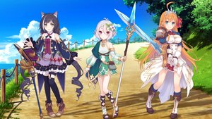 Rating: Safe Score: 45 Tags: animal_ears catgirl gloves karyl natsume_kokoro pecorine pointed_ears princess_connect! sword tagme_(artist) tail thighhighs third-party_edit weapon User: gnarf1975