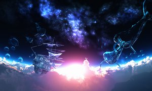 Rating: Safe Score: 163 Tags: 3d animal boat clouds fish original scenic sky stars y-k User: STORM