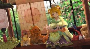 Rating: Safe Score: 34 Tags: animal bird cat dog fox koizumi_hanayo love_live!_school_idol_project orein rabbit short_hair User: BattlequeenYume