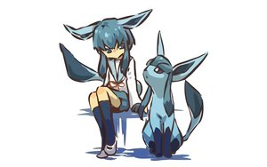 Rating: Safe Score: 78 Tags: glaceon hitec moemon pokemon seifuku User: 秀悟