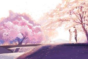 Rating: Safe Score: 63 Tags: cherry_blossoms flowers hanasei male original User: FormX