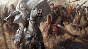 Rating: Safe Score: 104 Tags: animal armor behelit berserk caska corvus griffith guts horse lightofheaven male rickert sword weapon white_hair User: Flandre93