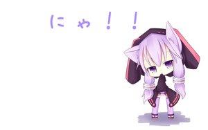 Rating: Safe Score: 104 Tags: animal_ears catgirl chibi hoodie miiya_(kuroi_hako) purple_eyes purple_hair thighhighs vocaloid voiceroid white yuzuki_yukari User: SciFi