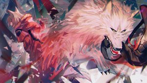 Rating: Safe Score: 41 Tags: animal animal_ears arknights hoodie projekt_red_(arknights) wolf wolfgirl yasato User: Dreista