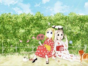 Rating: Safe Score: 21 Tags: ana_coppola blonde_hair blue_eyes glasses ichigo_mashimaro japanese_clothes kimono sakuragi_matsuri User: mikucchi