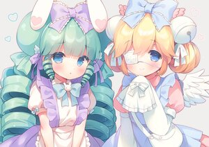 Rating: Safe Score: 55 Tags: 2girls cutesu_(cutesuu) eyepatch lolita_fashion long_hair mani miruku_(cutesuu) original User: BattlequeenYume