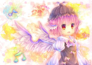 Rating: Safe Score: 43 Tags: mystia_lorelei pink_hair pjrmhm_coa touhou wings User: Zolxys
