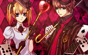 Rating: Safe Score: 35 Tags: shiki_senri touya_rima vampire_knight watermark User: cerezo-kuran