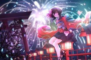 Rating: Safe Score: 81 Tags: kagura_(onmyouji) onmyouji tagme_(artist) User: luckyluna