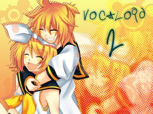 Rating: Safe Score: 25 Tags: kagamine_len kagamine_rin vocaloid User: HawthorneKitty