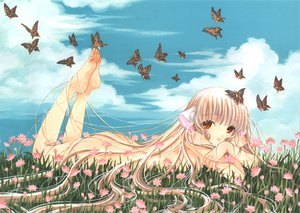 Rating: Questionable Score: 21 Tags: butterfly chii chobits clamp User: Oyashiro-sama