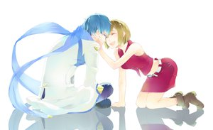 Rating: Safe Score: 32 Tags: kaito madder meiko vocaloid User: FormX
