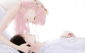 Rating: Safe Score: 43 Tags: just_be_friends_(vocaloid) megurine_luka vocaloid white yunomi User: Destroying