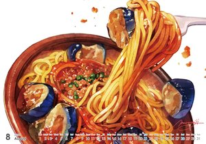 Rating: Safe Score: 38 Tags: calendar close food momiji_mao nobody original realistic signed User: otaku_emmy