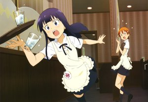 Rating: Safe Score: 50 Tags: inami_mahiru working!! yamada_aoi User: Elnarutoxxx2020