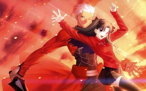 Rating: Safe Score: 29 Tags: archer fate/stay_night tohsaka_rin User: BitPire