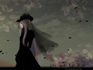 Rating: Safe Score: 38 Tags: dress hat hellsing integra_wingates_hellsing petals User: Tensa