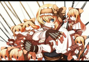 Rating: Safe Score: 65 Tags: alice_margatroid blonde_hair doll gloves hellsing mage parody shanghai_doll short_hair touhou weapon User: Dust