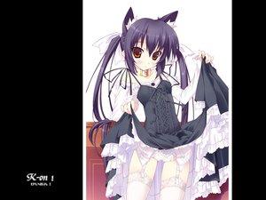 Rating: Questionable Score: 34 Tags: animal_ears goth-loli k-on! lolita_fashion nakano_azusa User: Oyashiro-sama