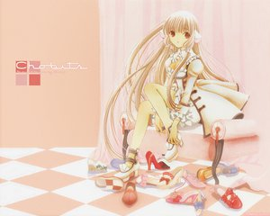 Rating: Safe Score: 38 Tags: chii chobits clamp User: 秀悟