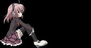Rating: Safe Score: 90 Tags: green_eyes headphones pink_hair sakurano_kurimu school_uniform seitokai_no_ichizon short_hair skirt thighhighs transparent vector zettai_ryouiki User: Daniel_92
