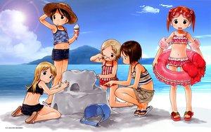 Rating: Safe Score: 17 Tags: ana_coppola beach ichigo_mashimaro itou_chika itou_nobue matsuoka_miu sakuragi_matsuri summer User: gnarf1975