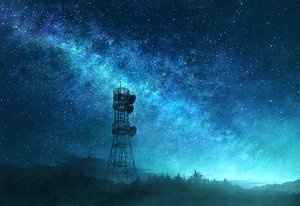 Rating: Safe Score: 75 Tags: clouds forest mks night nobody original scenic sky stars tree User: otaku_emmy