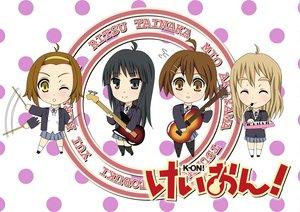 Rating: Safe Score: 7 Tags: akiyama_mio hirasawa_yui k-on! kotobuki_tsumugi tainaka_ritsu User: HawthorneKitty