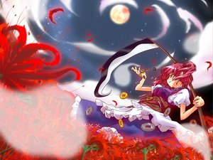 Rating: Safe Score: 23 Tags: onozuka_komachi scythe touhou User: WhiteExecutor