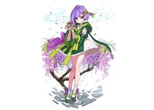 Rating: Safe Score: 25 Tags: aqua_eyes dress flowers gloves hoodie japanese_clothes omuro_musume petals purple_hair short_hair socks third-party_edit white yuu_(higashi_no_penguin) User: otaku_emmy